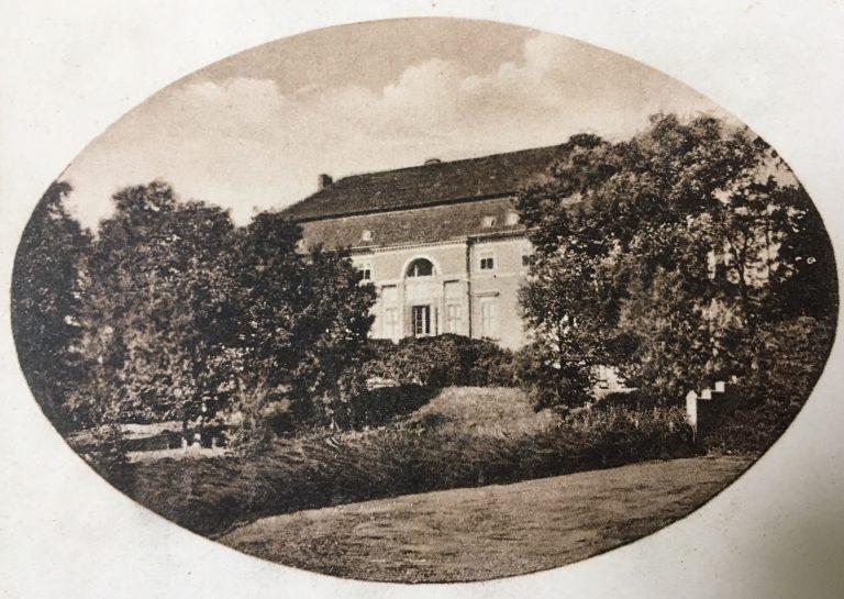 Postkarte Schloss Kehnert 1930